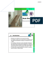 1) Staircase Design