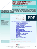 Formation Continue Polymeres Absorbants Et Superabsorbants