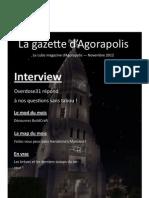 La gazette d'Agorapolis