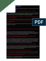 20 Mitos Sobre La PC