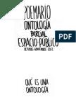 Poemario para una ontología parcial sobre el espacio público. Colaborabora