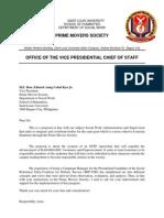 Letter Proposal