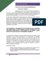 Guía del alumno olivia romero