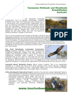 Tasmanian Wetlands and Woodlands Rehabilitation