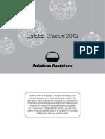 Catalog Craciun FabulousBaskets 2012