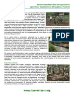 THAILAND Community Watershed Management and Agriculture Development