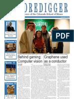 The Oredigger Issue 10 - November 12, 2012