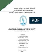 RIESGOS DE ADMINISTRACIÓN (R. DE MARKETING) DE LA GALLETERA GN