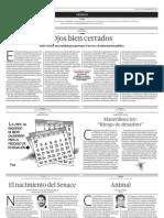 Página de opinión de El Comercio