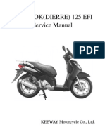 Manual Taller Outlook (Dierre) 125 Efi (Idioma Ingles)