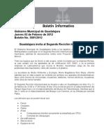 02-02-2012 Guadalajara invita al Segundo Reciclón Intermunicipal