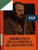 Bajtín, Mijail - Problemas de la poetica de Dostoievski
