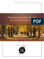 Thanksgiving Turkey Recipes from Your Favorite Chefs