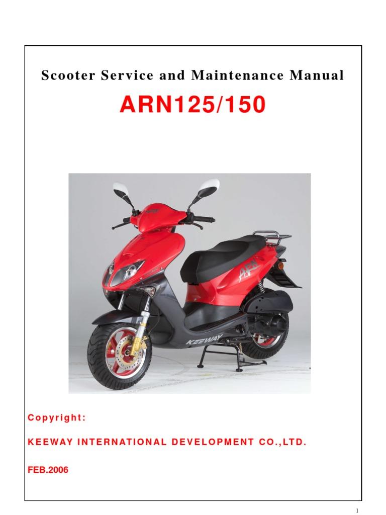 stella 150cc scooter digital workshop repair manual