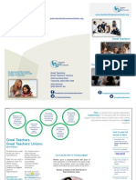 Teachers for a New Unionism brochure