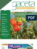 Gaceta 273 - 21 Agosto 2011