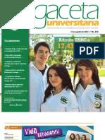 Gaceta 272 - 7 Agosto 2011