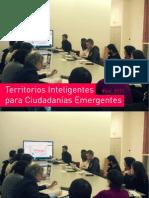 Taller de Territorios Inteligentes para Ciudadanías Emergentes. Doménico Di Siena, Marina Blázquez y Jesús Rodríguez
