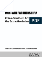 China Southern African and Extractive Industries