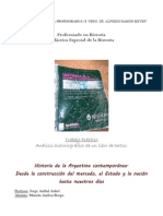 ANÁLISIS HISTORIOGRÁFICO DE UN LIBRO DE TEXTOS