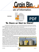 The Grain Bin - Fall 2012