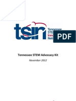 TN STEM Advocacy Kit - November 2012