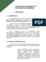A participação do Advogado e o Juizado Especial Criminal