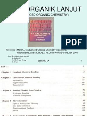 Kuliah Kimia Organik Lanjut S1 Chemical Polarity Molecular Orbital