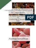 Trastornos Hematológicos y de la Coagulación