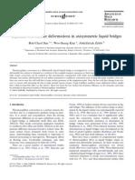 Dynamic Free Surface Deformation in Axi Symmetric Liq Bridge