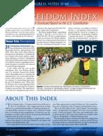 Freedom Index Oct 2012