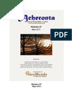Acheronta número 27