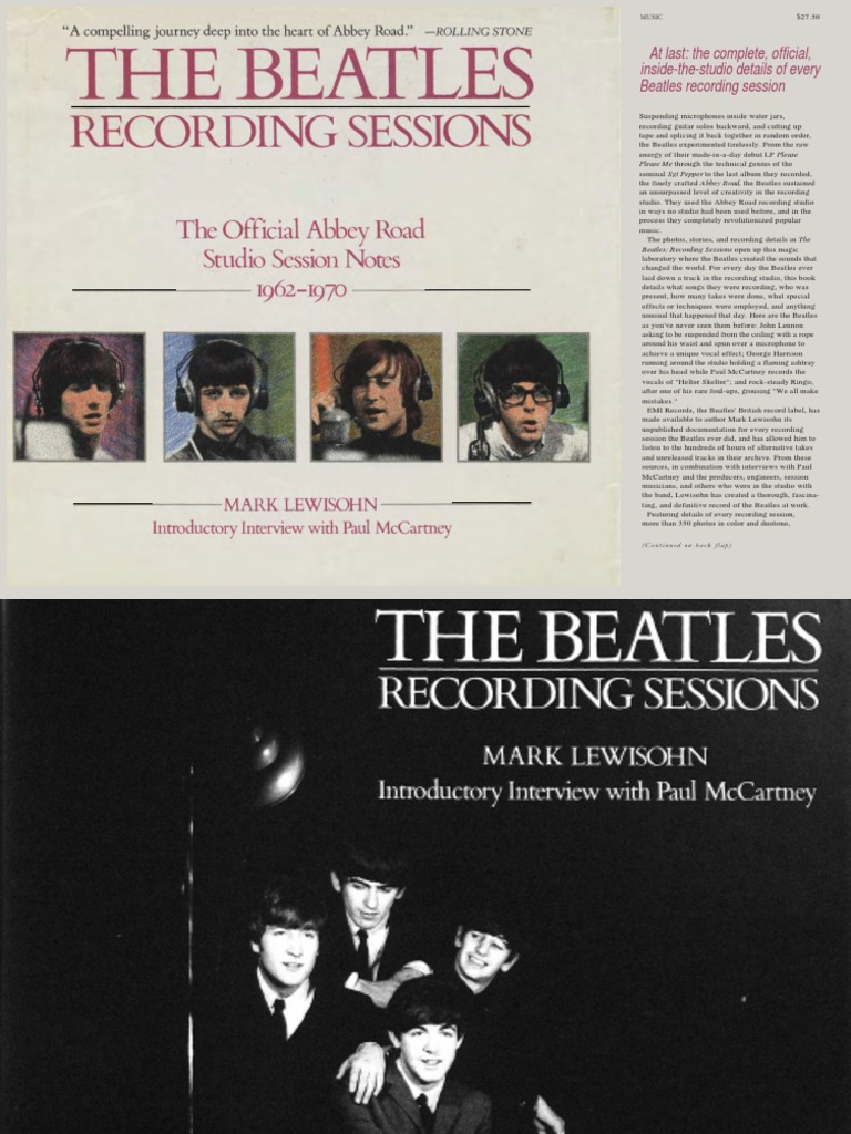 Mark lewisohn the complete beatles recording sessions 1988pdf mark lewisohn the complete beatles recording sessions 1988pdf the beatles leisure fandeluxe Images