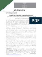 30-08-2012 Presenta GDL Avances Del Proyecto INTEGRATION