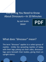Dino Presentation