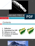 Law and Free Will