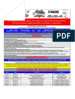 Convocatoria Llantas Tornel Hit de Campeones 2012
