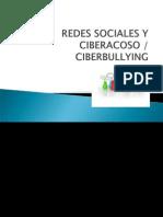 Redes Sociales y Ciber Acoso