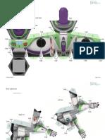 Buzz Lightyear Papercraft Photo