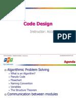 Lesson 1_Code Design