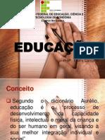 AULA EDUCAÇÃO