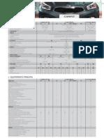 Kia Ceed 5P SW (MY2013) - Monofolha