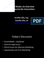 Social Media for Attorneys - Powerpoint from Pike County Presentation