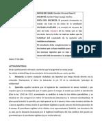 Clases Procesal Penal II catalina castaño
