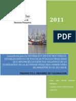 ESTUDIO COMPLETO FLOTA DE ARRASTRE-PRODUCTO 2 INFORME DE VALORACIÓN