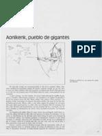 Aoniken Pueblo de Gigantes - Alvaro Barros