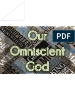 our omniscient god