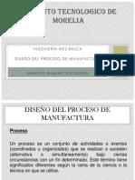 diseño del proceso de manufactura