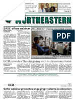 The Northeastern - November 13, 2012