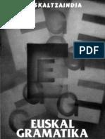 Euskal Gramatika. Lehen Urratsak 1. Eraskina
